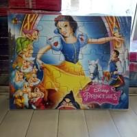 Puzzle / Puzle / Pazel Disney Princess uk Besar belajar mengasah otak