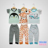 Kazel Pajamas 3in1 – London - baju tidur anak laki laki