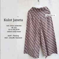 Batik Solo Kulot Janeta Parang Masayu Batiksoloamanah 145.000