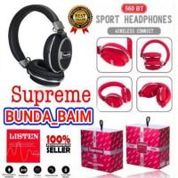 HEADPHONE SUPREME 560BT BLUETOOTH / HEADSET BANDO WIRELESS EXCELLENT