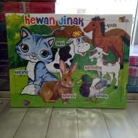 Puzzle / Puzle / Pazel Hewan uk Besar - belajar mengasah otak anak