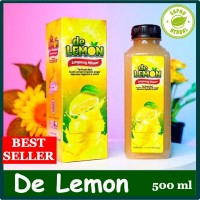 Minuman Kesehatan Pelancar BAB - De Lemon Sari Lemon Asli
