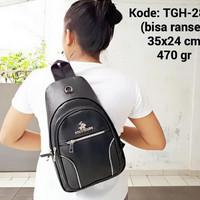 Tas gaul pria multifungsi tas travel backpack asli berkualitas
