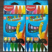 Maped Crayon Oil Pastel X12
