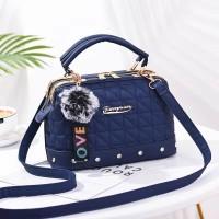 tas wanita import biru jinjing slempang handbags keren fashion 83769