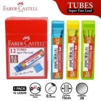 Isi Pensil Mekanik Faber Castell Tube Warna-Warni