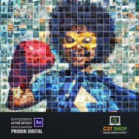 MOSAIC PHOTO REVEAL V3 | Videohive After Effect Template