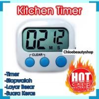Digital Kitchen Timer Alarm Dapur Pengingat Oven Bagus