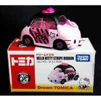 JS Hello Kitty Stripe Ribbon Tomica Dream Limited