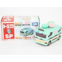 JS Birthday Sweets Bus Tomica Dream Limited