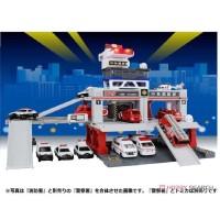 JS Light and SOUND Fire STATION Tomica Build City Original Limited