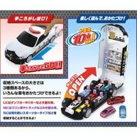JS BIG POLICE CAR TOYOTA 86 STORAGE CASE Tomica Takara tom Limited