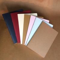 Promo Buku Tulis Polos A5 Book Paper (Blank/Plain Notebook) Kirim