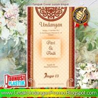 Cetak Undangan Murah FREE SETTING & FREE PLASTIK Produk Jago Seri 13
