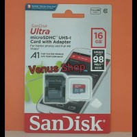 Promo Sandisk Microsd 16Gb 98Mbps Class 10 - Micro Sd 16Gb 98Mb/S