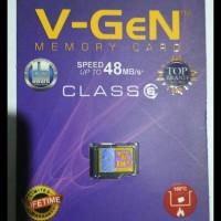 Terjamin Memory Card Microsd Vgen 8 Gb Class 6 Best Seller