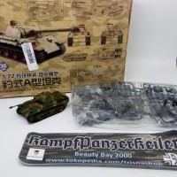 Model kit tank 1/72 German Tiger I & Panther A