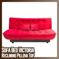 Sofa Bed VIctoria Pillow Top Reclining
