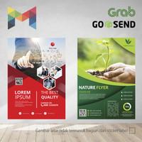 Brosur / Flyer A5 - 1 sisi - Full Color - Digital Print