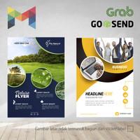 Brosur / Flyer A4 - 1 sisi - Full Color - Digital Print