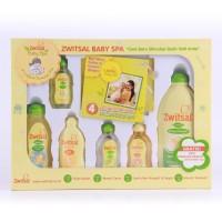 Zwitsal Baby Spa Gift Set Sabun Mandi Perlengkapan Bayi 6in1+BONUS DVD