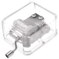 Kotak Musik Klasik Transparan - 899023 terlaris