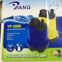 aquarium kolam ikan pompa celup water pump yang yp 2800 ori