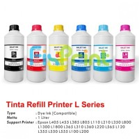 Tinta Refill Printer Epson Ink Tank L Series 1 Liter 1L Botol Anti UV