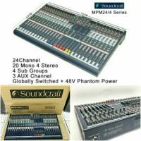mixer soundcraft mpm24 mpm 24