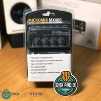 Behringer MX400 [ MX 400 ] MicroMix Four Channel Line Mixer Audio