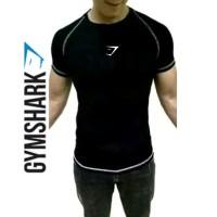 5e75898f208bee TShirt Baju Kaos Gym CPC HIU fitnes training GYM SHARK Tshirt T-shirt
