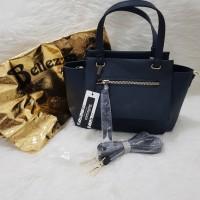 authentic Bellezza blue Bag / Tas wanita Bellezza original