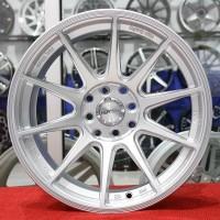 Velg Mobil HSR Tipe SHINJUKU Ring 16 All New Brio Yaris Sigra Datsun