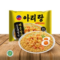 Mie Korea Arirang Spicy Salted Egg Fried Noodle 125gram