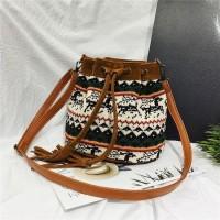 20214 tas import tas wanita selempang shoulder bag serut tas korean