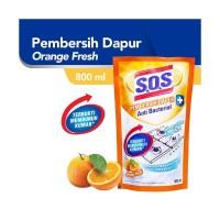SOS Pembersih Dapur Refill [800 mL]