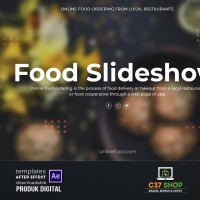 FOOD Slideshow | Videohive After Effect Template