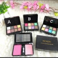Paling Murah Revlon Mini 2 Blush On & 8 Eyeshadow Kode 015