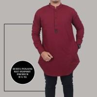 Baju qurta pakistan lengan panjang pocket