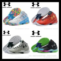 d8dc2c8f15c7 Sepatu Basket Under Armour Curry 3 Middle Hitam Merah Anti Licin Sale