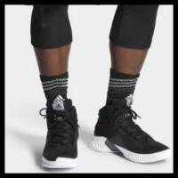 0795fceaf51e Promo Sepatu Basket Adidas Pro Bounce 2018 Black White Ah2658 Best