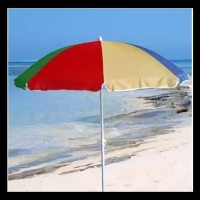Tenda Payung Parasol Untuk Cafe Pantai Jualan 180Cm Warna Warni Promo