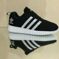 TERBARU!!!!! sepatu adidas yeezy strip putih AY