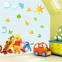 wallsticker winnnie the pooh tiger piglet