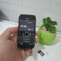 Hp Jadul NOKIA E6 Black MULUS ISTIMEWA Tag X5 E7 E90 N9 N82 Samsung