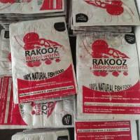 Cacing beku Bloodworm 28 Kt Kapsu Merk Rakooz sejenis pioneer & B'Boos
