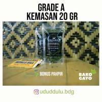 Grade A Tembakau Gayo 25 Gr Bonus Pahpir