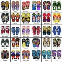 Size 32 Sandal Sancu Karakter / Sandal Lucu