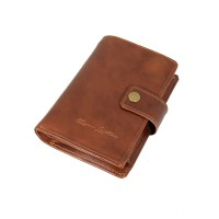 Dompet Kulit Passport Pull up Havana - Kenes Leather