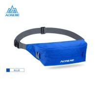 Aonijie Waist Bag W931 - Tas Pinggang Lari Sepeda Gym Outdoor - BLUE